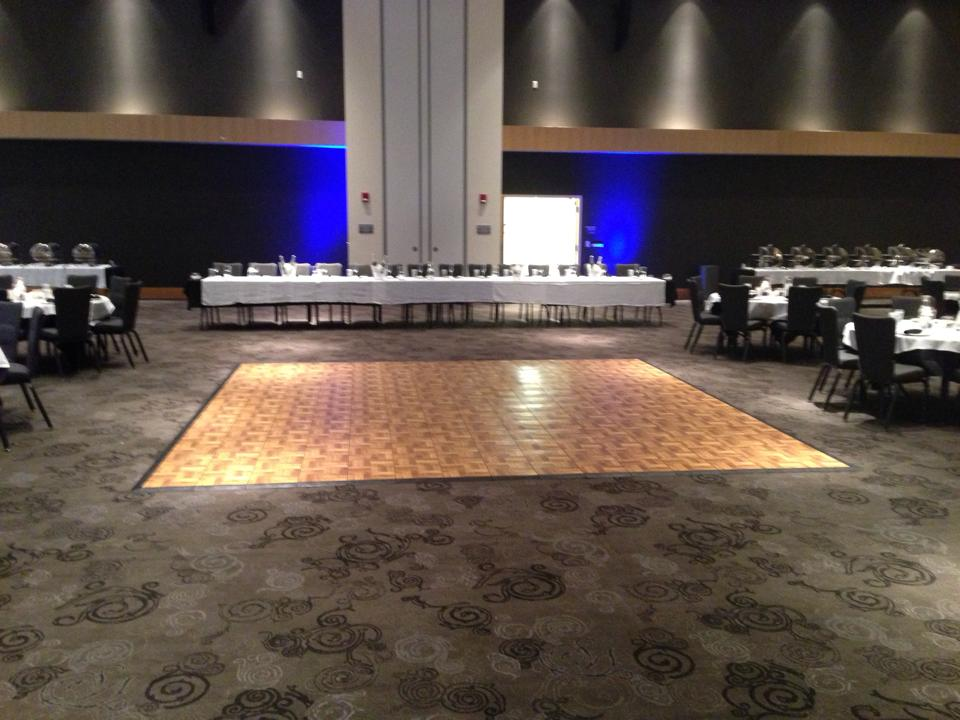 Blue uplighting rental on a wall of 10 foot high. & Outdoor Uplighting Rental Rentals Ft. Wayne IN Where to Rent ...