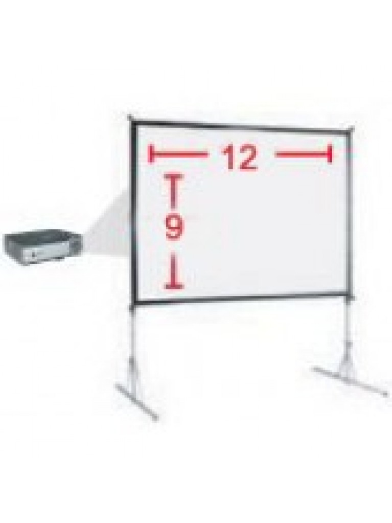 9' x 12' Projector Screen Rental - Summit City Rental