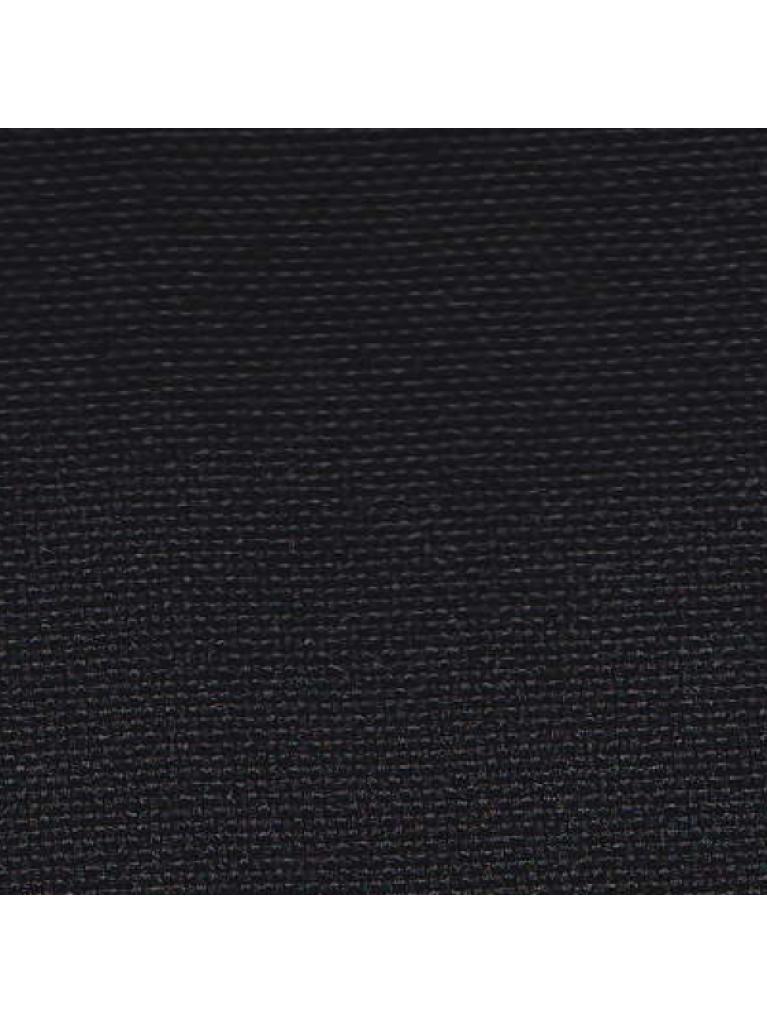 "Black 120"" Polyester Linen Rental"