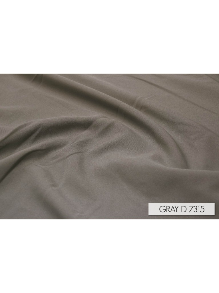 "120"" Grey Polyester Linen Rental"