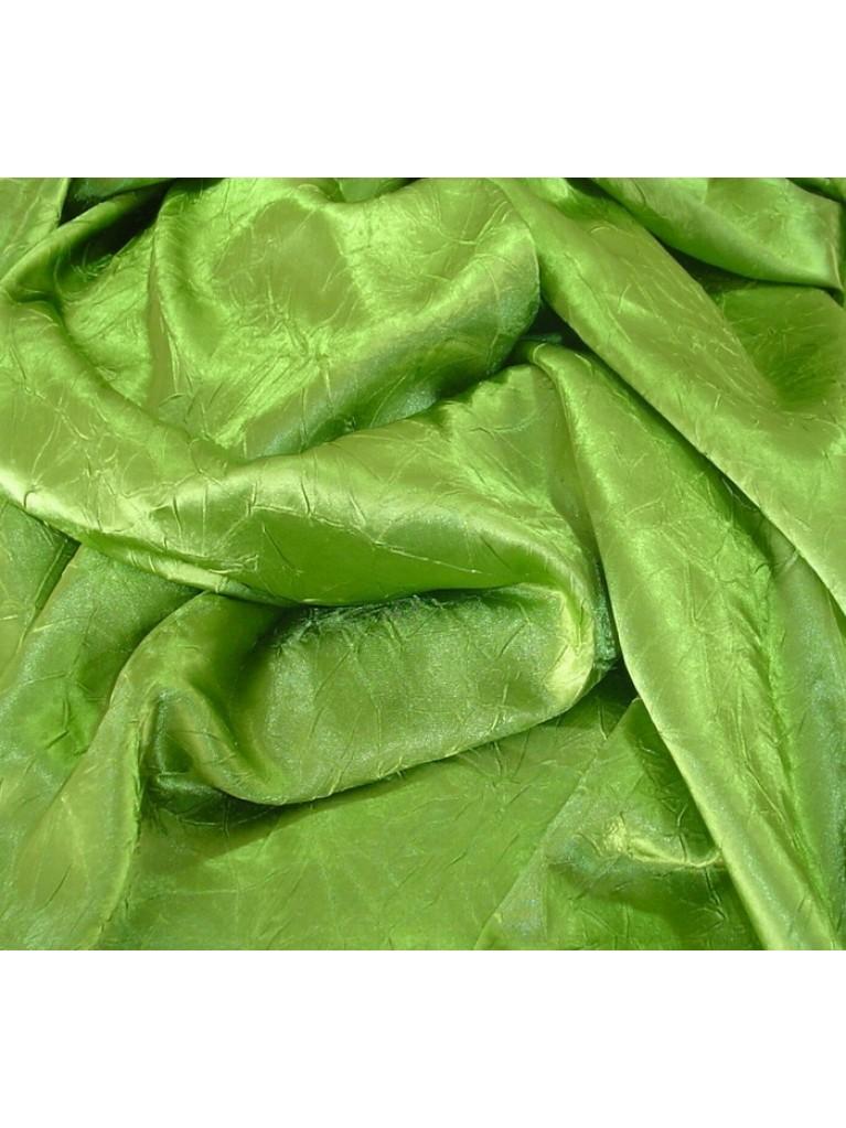 "108"" Green Crush Satin Linen Rental | Summit City Rental"