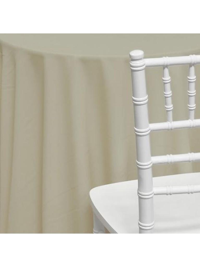 "120"" Polyester Ivory Rental"