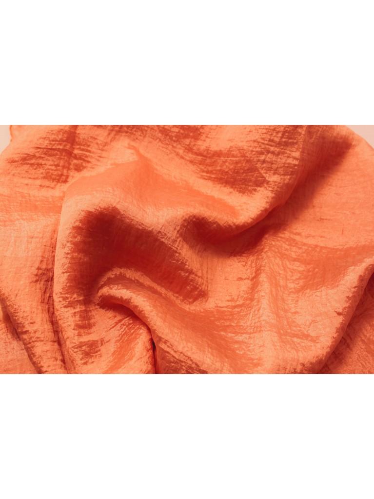 "108"" Orange Crush Satin Linen Rental | Summit City Rental"