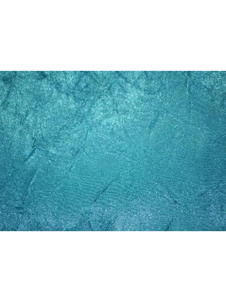 "120"" Crush Satin Turquoise Linen Rental"