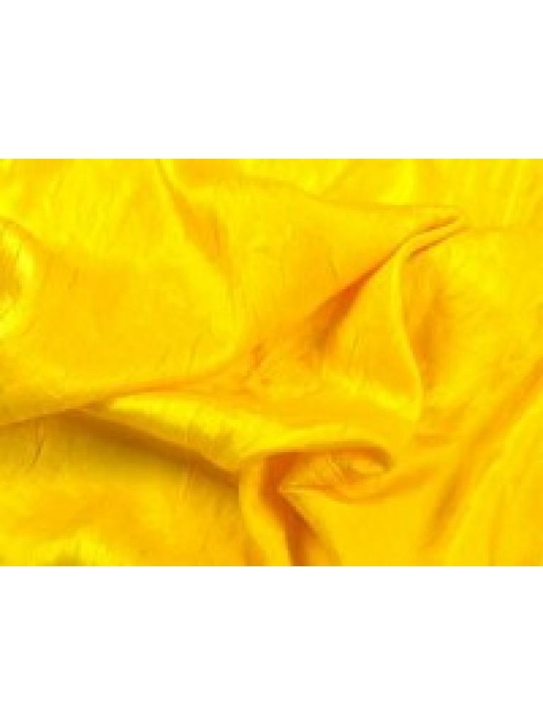 "108"" Yellow Crush Satin Linen Rental | Summit City Rental"