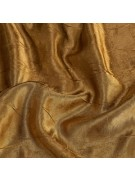 Gold Crush Satin Linen Rental by Summit City Rental