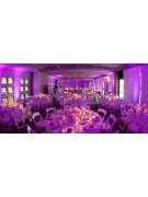 Wireless uplighting rental by Summit City Rental