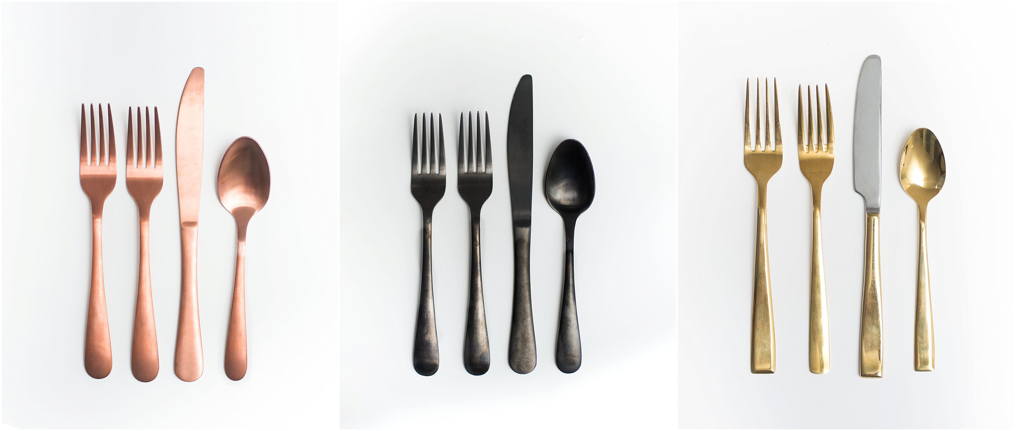 Flatware rental with free shipping nationwide. Reserve our flatware rental for your wedding. | Summit City Rental